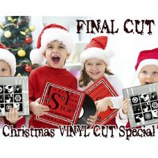 "Final Cut ""Xmas Vinyl Cut Special"" Bundle"